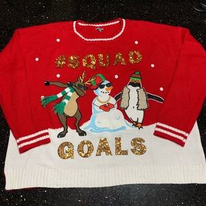 """UGLY SWEATER """" SQUAD GOALS"""""""
